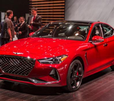 2020 Hyundai Genesis Sedan