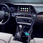 2020 Hyundai Sonata Black