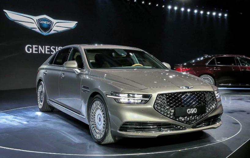 2020 Hyundai Genesis G907 2020 Genesis G90 Color Options