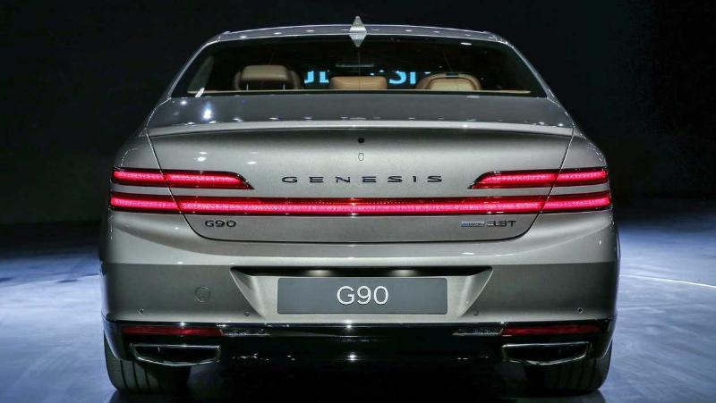 2020 Hyundai Genesis G909 2020 Genesis G90 Color Options