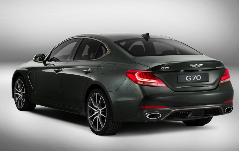 2020 Genesis Coupe