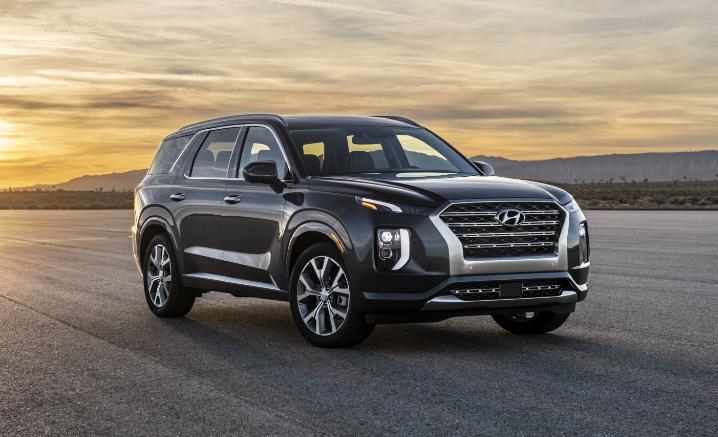 2020 Hyundai Santa Fe Colors